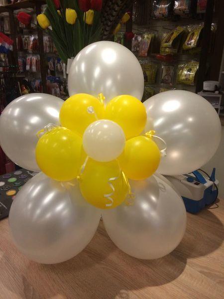 Verwonderend ballon decoratie versiering bloem feestwinkel Bas Bastiaans IM-92