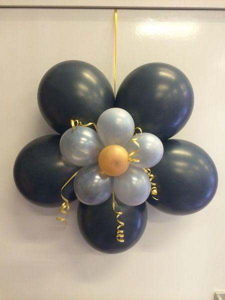 Fonkelnieuw ballon decoratie versiering bloem feestwinkel Bas Bastiaans LY-34