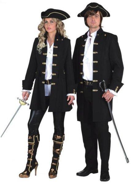 Markies piraten jas, basis Oeteldonk jas