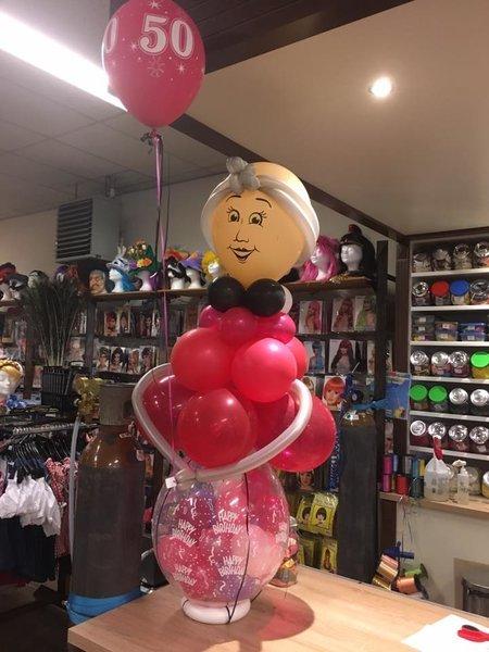 Wonderbaarlijk Stuffer kado ballon, kadoballon voor Sarah ZA-09
